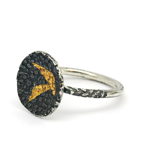Keum bo lichen disc ring