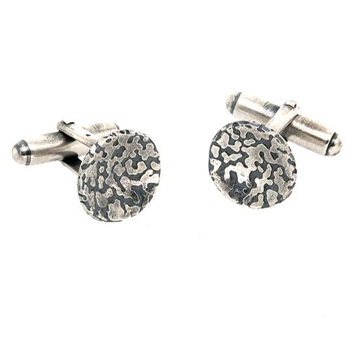 Oxidised_silver_cufflinks