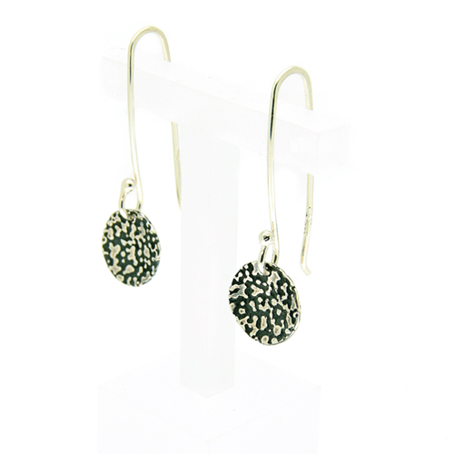 Lichen drop earrings